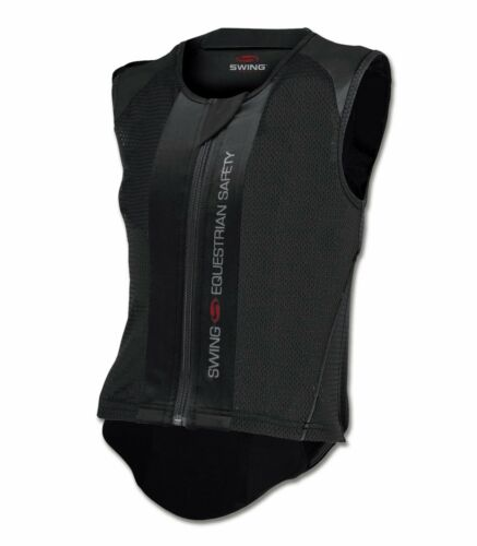Vest Corset Protective Back Protector Flexible Horse Riding SWING P06 Adult