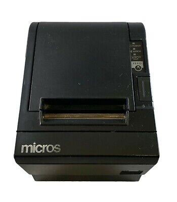 Micros Epson Tm-t88iii M129c Thermal Pos Receipt Printer With Idn If
