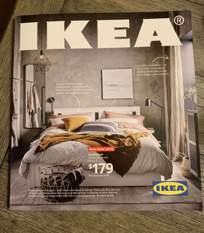 IKEA Store Catalog 2021 Printed In the USA New Book 📚 Last One collector's Item