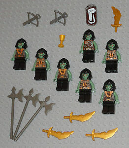 LEGO-Minifigures-Lot-7-Monster-Army-Trolls-Guys-Lego-Minifig-Castle-Knight-Toys