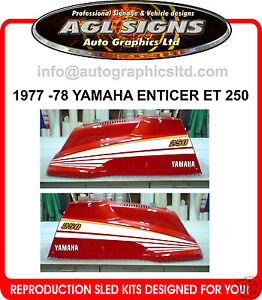 1977-1978-YAMAHA-ENTICER-ET250-SNOWMOBILE-DECAL-KIT-reproductions-graphics