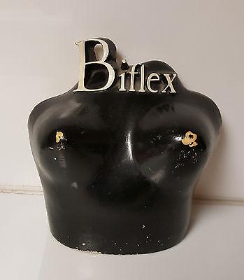 Vintage Mannequin Bust Bra Display Biflex c1950
