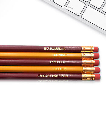 Engraved Pencils (Harry Potter - Inspirational Pencils Engraved With Funny And)