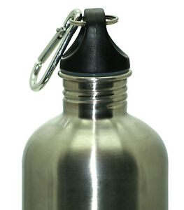 1000ml (1L) Stainless Steel Water Drink Bottle BPA Free