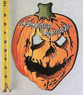 Vintage Rave Flyer Halloween 2000
