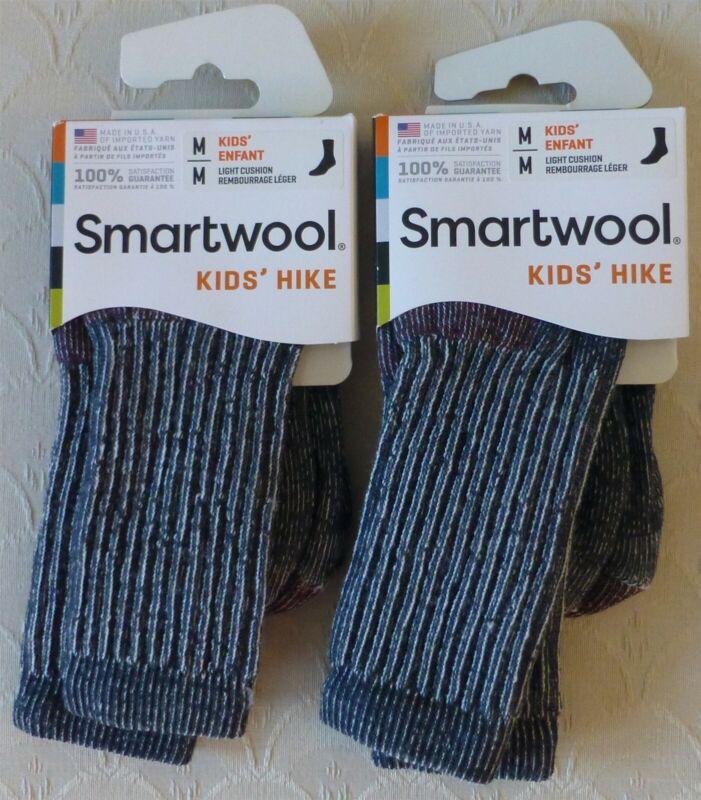 LOT 2pr SmartWool Hike Light Cushion Crew Socks M US 12-2.5/EU 29-32/UK 11-13.5