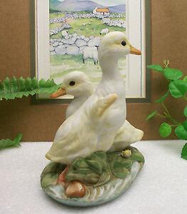 home interiors homco masterpiece porcelain baby ducks