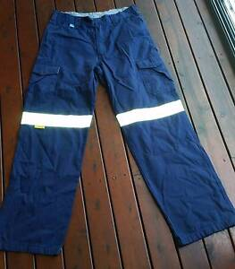 WorkSense Navy Drill Pants 82R (reflective & non reflective) Belmont Belmont Area Preview