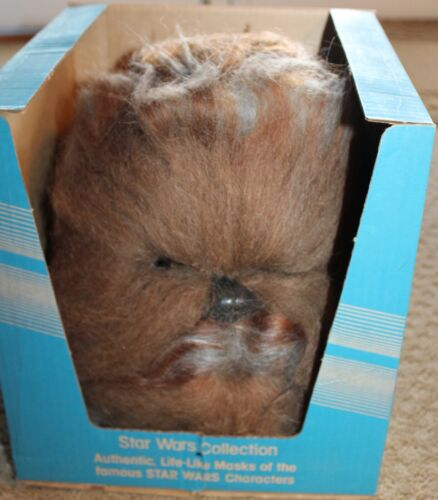 VINTAGE STAR WARS 1982 FULL SIZE DON POST STUDIOS PROP REPLICA CHEWBACCA MASK