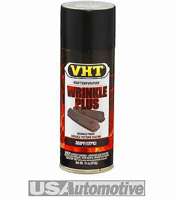 VHT BLACK WRINKLE FINISH PAINT METAL DASHBOARDS VALVE COVERS SP201