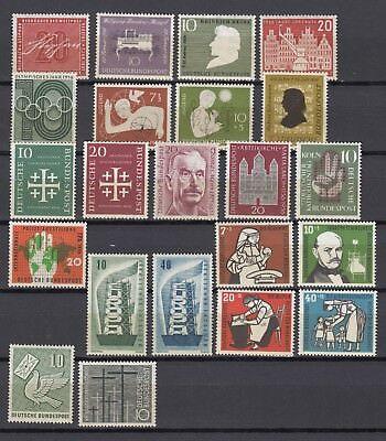 Briefmarken Bund Jahrgang 1956 postfrisch komplett
