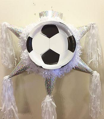 Soccer Pinata Star Shape - Soccer Pinata