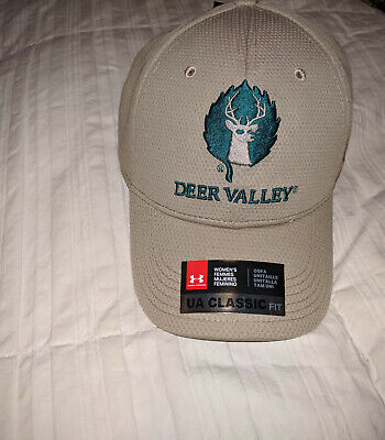 NWT Womens Deer Valley Under Armour Ski Resort Hat Cap One Size