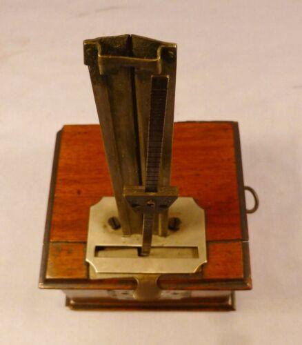 Antique Unusual Open Well De Maelzel Wooden Metronome  -BEST OFFER-