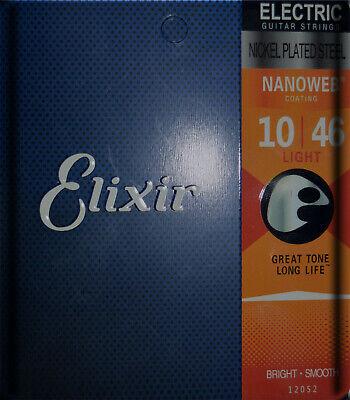 Juego de Cuerdas Guitarra Eléctrica 10 - 46 - ELIXIR NANOweb -...
