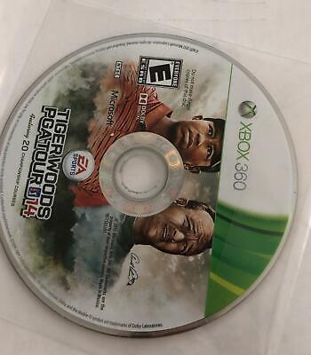 Tiger Woods PGA Tour 14 (Microsoft Xbox 360, 2013)