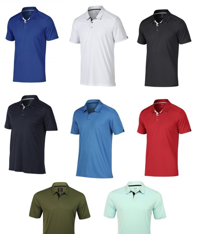 Oakley Mens Divisional Polo Golf Shirt - Choose Color & Size - 433690 - New