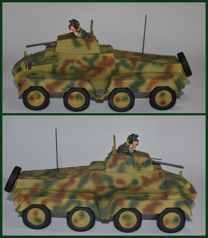 King & Country Wooden German Panzerspahwagen