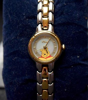 Winnie the Pooh Watch - from 1980's - Mother of Pearl Dial - Used