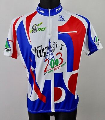 Brand New GIORDANA 2003 Paris Cycling Jersey Men s XL 56 Size 5 Shirt Cycle  BNWT a2b309a1f