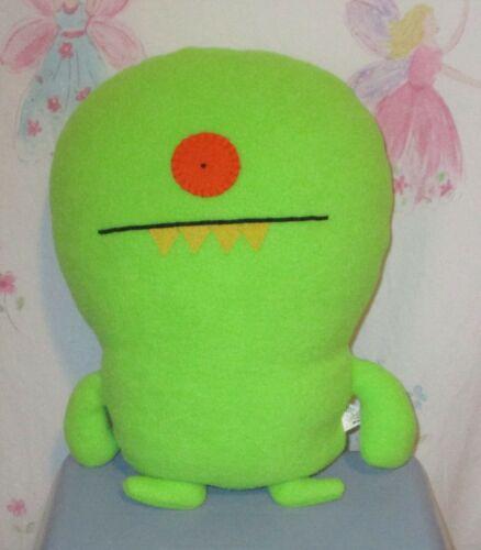 "Uglydoll Winkolina Green 12"" Plump Plush 2009"