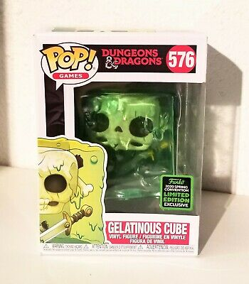 Gelatinous Cube #576 Funko Pop! Dungeons & Dragons Exclusive *SHIPS FAST*
