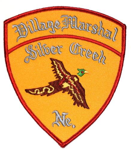 SILVER CREEK – VILLAGE MARSHAL - NEBRASKA NE Police Sheriff Patch PHEASANT BIRD