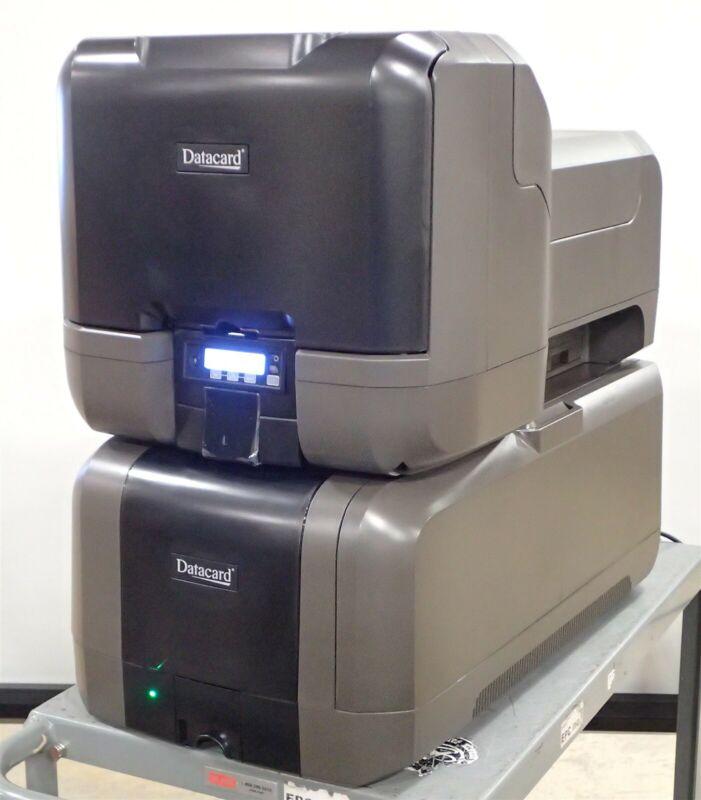 New DataCard CE870 Instant Issuance System Credit Card Printer & CEM Embosser
