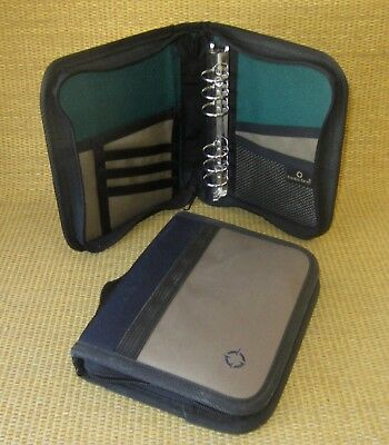Compact 1 Rings X2 Green Blue Durable Sport Franklin Covey Plannerbinder