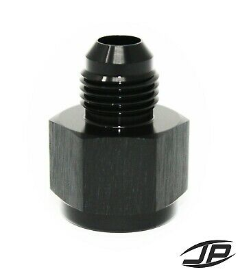 Black -8 AN Female -6 AN Male AN Flare Fitting Reducer Adapter 8AN to 6AN