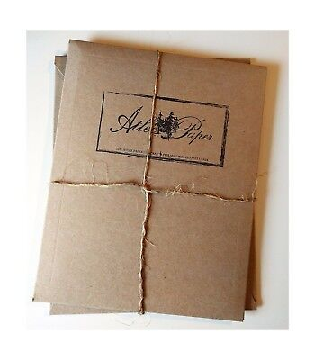 Atlee Parchment Letter Writing Set - Envelopes and Parchment Paper - NEW