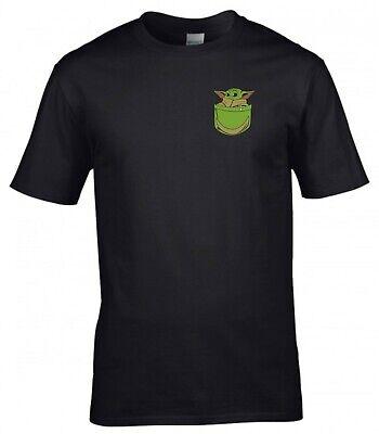 Baby Yoda T Shirt Star Wars The Mandalorian Fans Joke Birthday Gift Men Tee Top