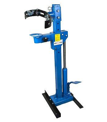 2200lbs Heavy Duty 1 Ton Spring Compressor Hydraulic Strut Coil Station Garage