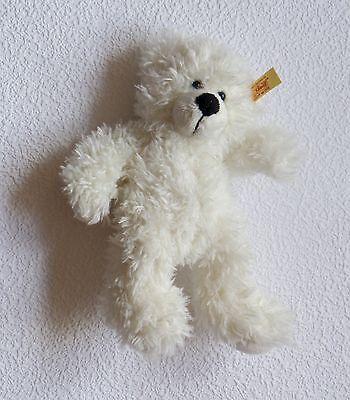 Steiff 673351 - LOTTA Bär - Teddy von Steiff mit Fahne weiß sehr gut erhalten *