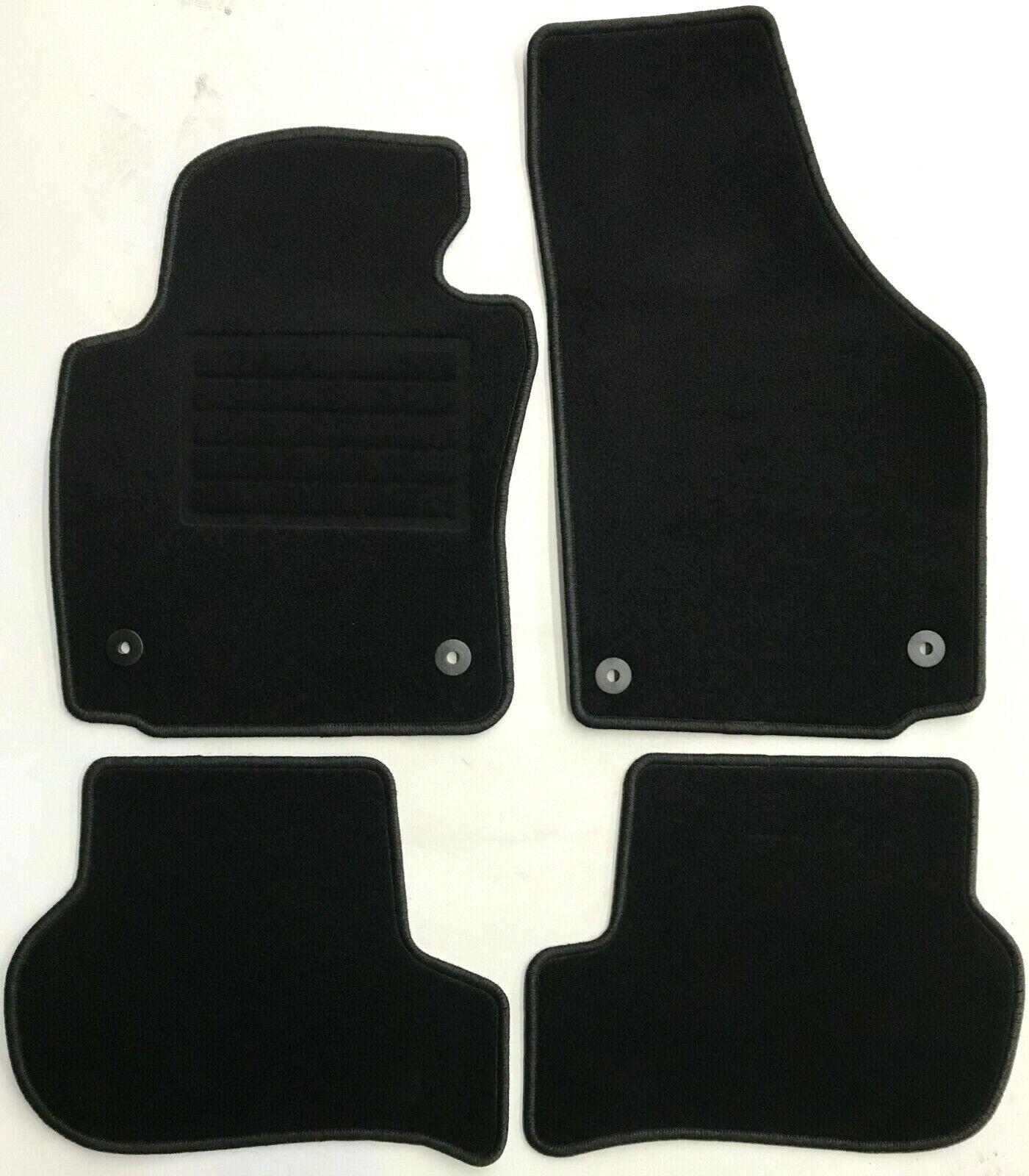 Seat Leon 1P 100/% passform Fussmatten Autoteppiche Schwarz
