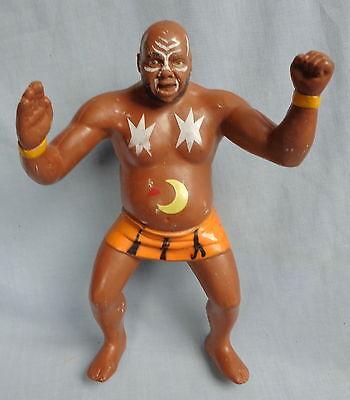 WWF KAMALA 1987 LJN WRESTLING  FIGURE wwe