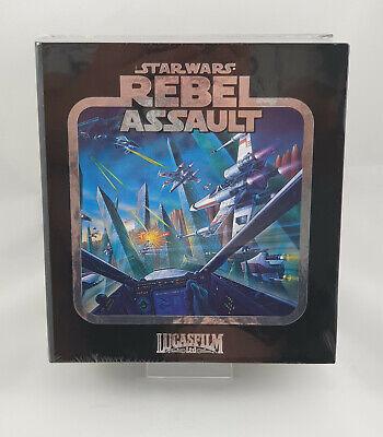 Star Wars Rebel Assault Mega CD Premium Limited Run