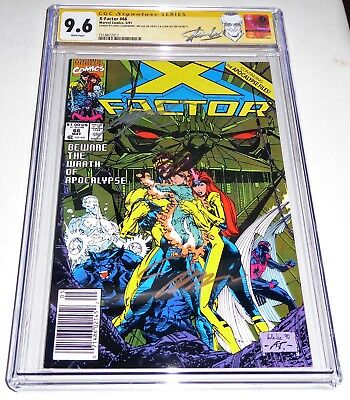 X-Factor #66 3x CGC SS Signature Autograph JIM & STANN LEE CHRIS CLAREMONT Hulk