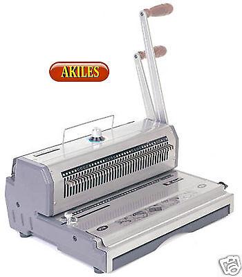 Akiles Wiremac-31 Wire Binding Machine Punch 31 Pitch 14 New Awm-31
