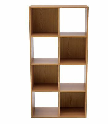 Used, HOME Squares 8 Cube Unit - Oak Effect. for sale  Shipping to Ireland