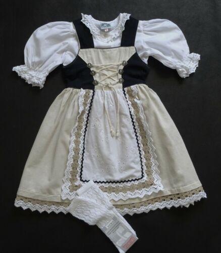 Girls German Austrian Trachten Dirndl  Dress 4 years
