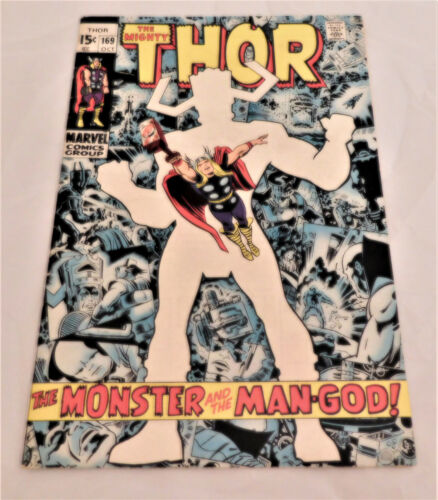 The Mighty Thor #169 (1969) Galactus Origin Key Issue Fine Condition