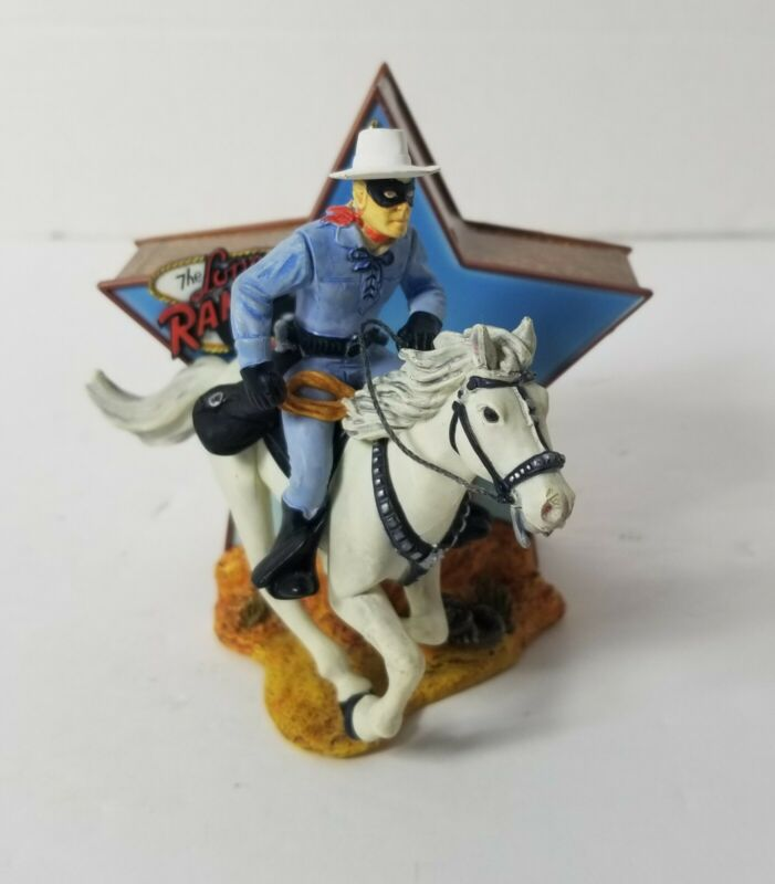 The Lone Ranger Ornament Authentic Voice Carlton Cards Heirloom Collection