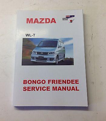 Mazda Bongo 2.5TD Diesel 1995-2006 Workshop Service Manual (free electrics cd)