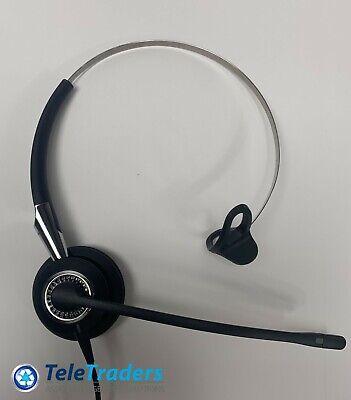 Used, Jabra BIZ 2400 USB Mono Black Optimized Corded Headset for sale  Shipping to India