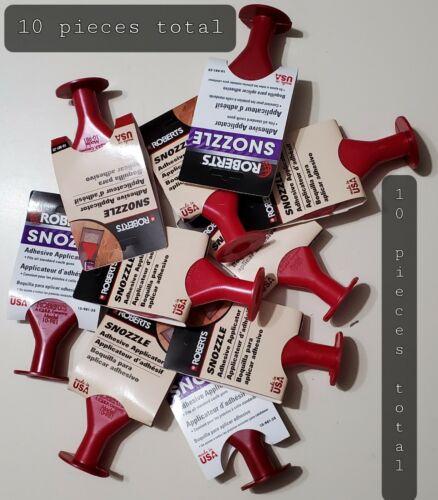 Roberts Snozzle 10-981-25 NWT Adhesive Applicator (Lot Of 10pcs)