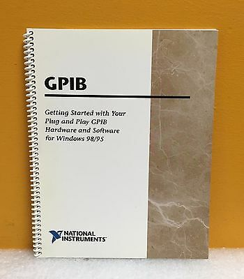 National Instruments Ni 321035e-01 Plug Play Gpib Hardware Software Guide