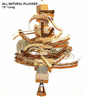 Pet bird parrot toy cage medium toy All Natural for amazon cockatoo african grey
