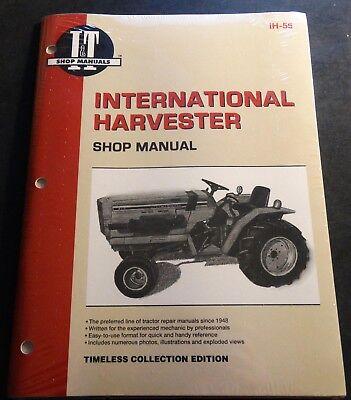 International Harvester Tractor Shop Service Manual 234 234 Hydro 254 Ih-55 New