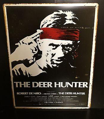 The Deer Hunter Classic Movie Poster Wall Decor Garage Metal Sign 30x40 Cm